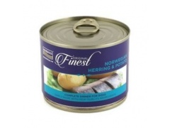 Fish4Dogs Finest Herring Wet Complet puszka 185g 1szt.