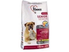 1st Choice Dog Less Active & Senior Sensitive Skin & Coat Lamb 2,72kg