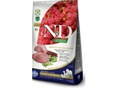 Farmina N&D Quinoa Weight Management Jagnięcina, quinoa, brokuły i szparagi dla psa 2.5kg