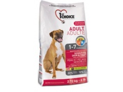 1st Choice Dog Adult Sensitive Skin & Coat 2.72kg