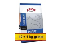 Arion Original Puppy Large Salmon & Rice 13kg (12 + 1kg gratis)