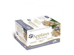 Applaws miseczki dla kota Chicken Selection Multi Pack 8x60g