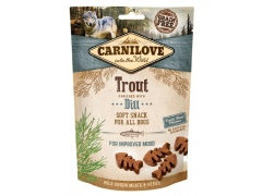 Carnilove Dog Snack Fresh Soft Trout + Dill 200g