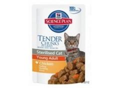 Hill\'s Feline Young Adult Sterilised Cat Chicken saszetka 85g