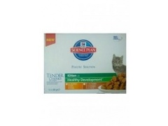 Hill\'s Feline Kitten Multipak Chicken + Turkey Healthy Development saszetka 12x85g